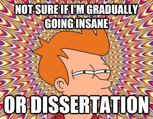 Dissertation panic advice