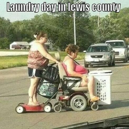 LAUNDRY DAY IN LEWIS COUNTY  Misc
