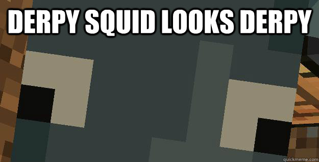 Derpy squid looks derpy - Derpy squid looks derpy  Derpy Squid
