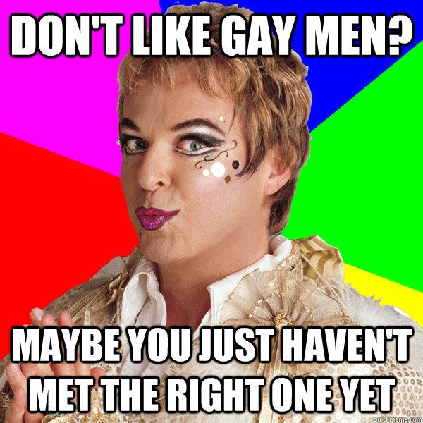 gay man meme