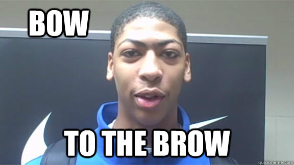 BOW TO THE BROW