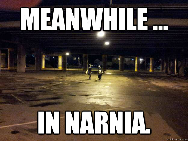 meanwhile ... in narnia. - meanwhile ... in narnia.  Misc
