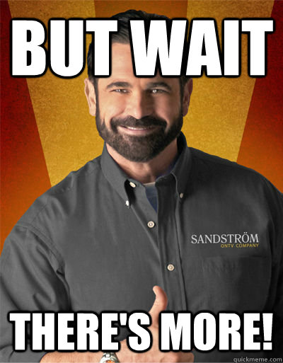 but wait There's more! - but wait There's more!  Billy Mays