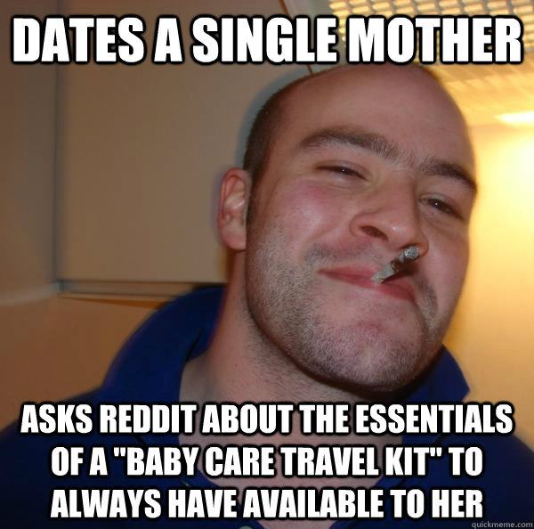 Dates a single mother asks reddit about the essentials of a