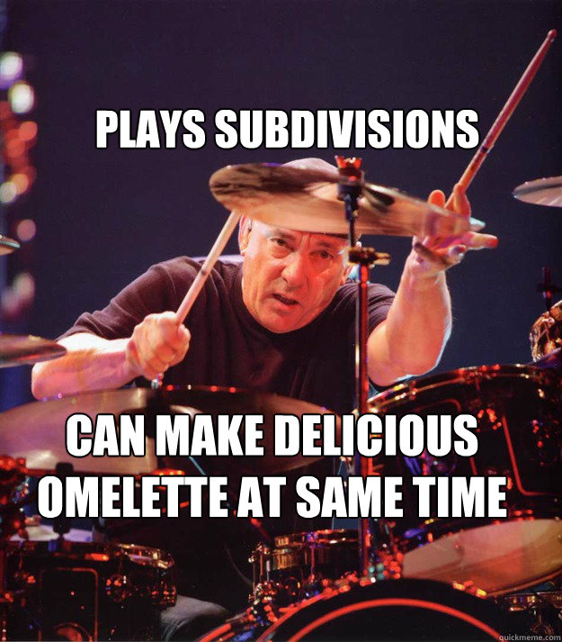 Plays Subdivisions Can make delicious omelette at same time