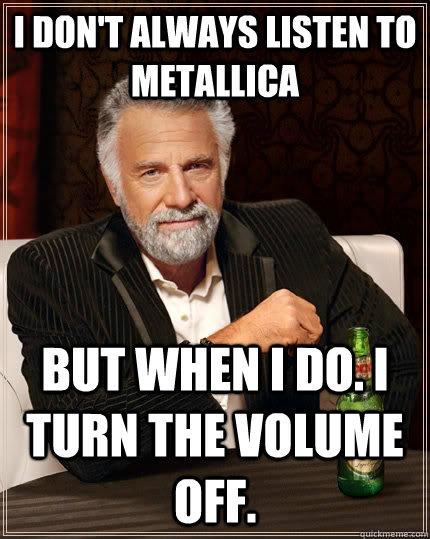Funny Metallica Memes Funny Metallica Memes