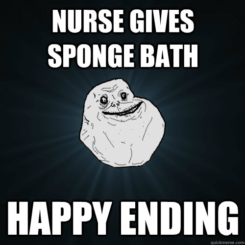 Nurse gives sponge bath Happy Ending - Nurse gives sponge bath Happy Ending  Forever Alone