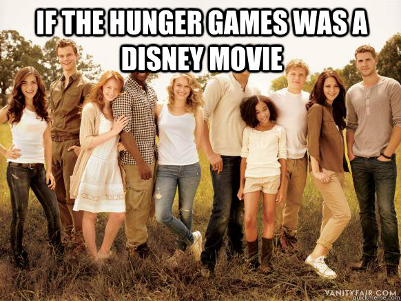 If The hunger games was a disney movie