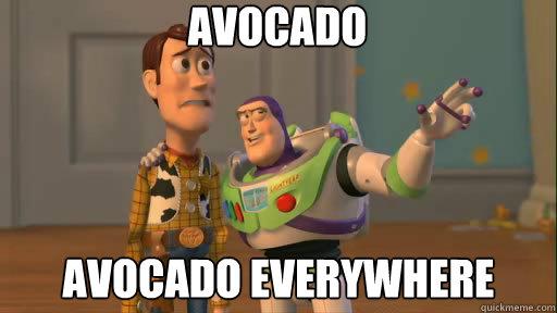 Avocado Avocado Everywhere - Avocado Avocado Everywhere  Everywhere