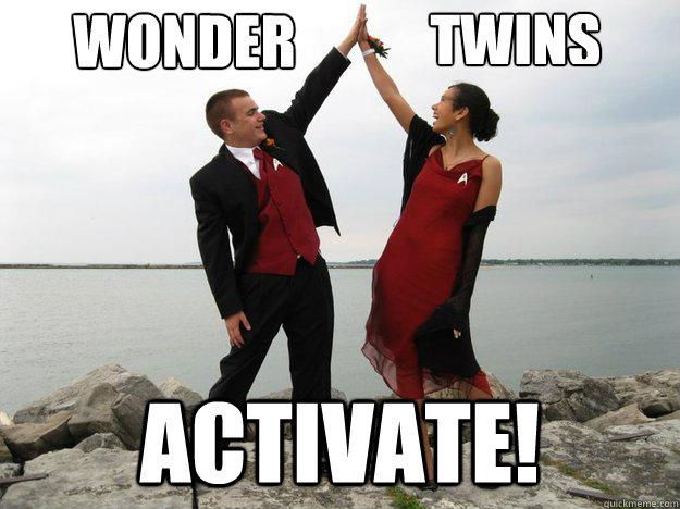 Wonder Activate! Twins - Wonder Activate! Twins  Wonder Twins