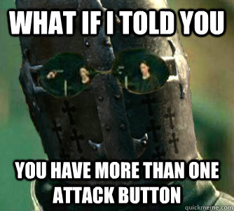 What if I told you You have more than one attack button - What if I told you You have more than one attack button  Vanguard Morpheus