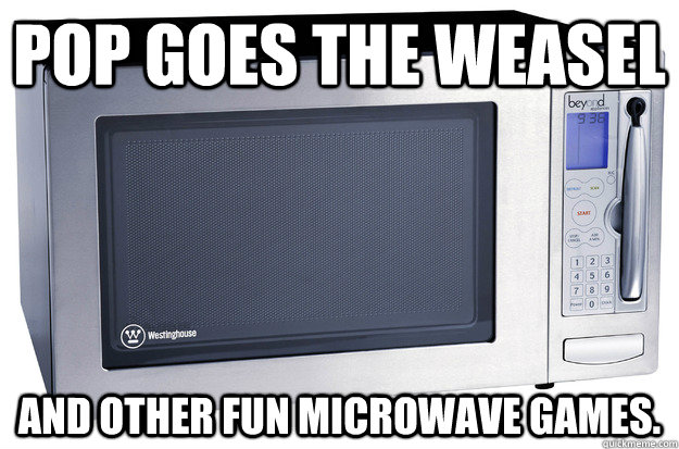 pop goes the weasel and other fun microwave games microwave games