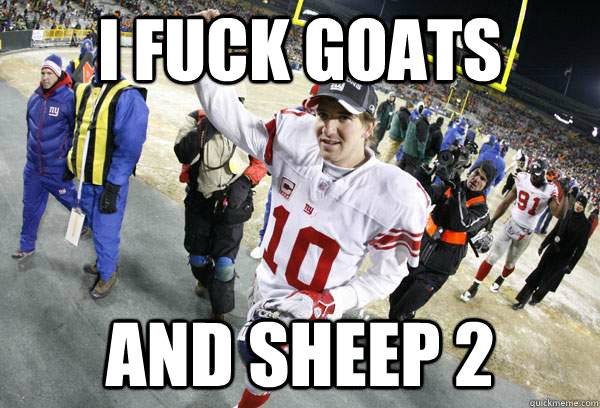from Aron eli manning gay