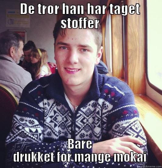 DE TROR HAN HAR TAGET STOFFER BARE DRUKKET FOR MANGE MOKAI Misc
