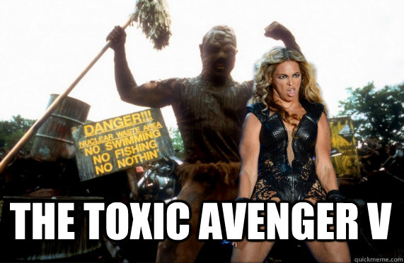 the toxic avenger v