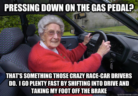 Race Car Drivers Meh