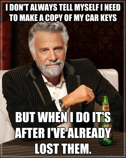 Don T Lose Your Mind Over Lost Car Keys Los Angeles Locksmith S Blog