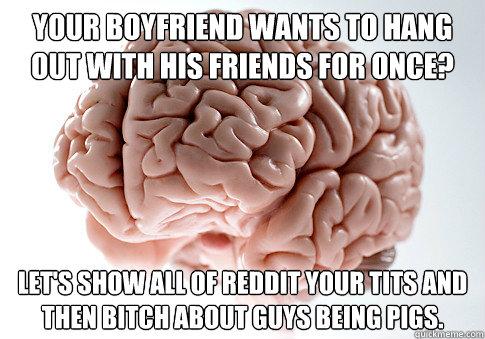 boyfriend wants to be friends