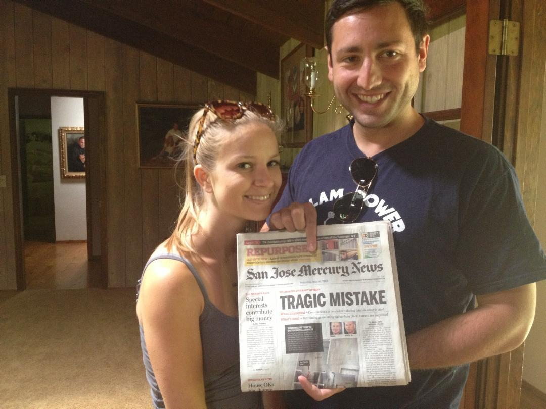 My sister just got married, she asked me to save her a newspaper from her wedding day. -   Misc
