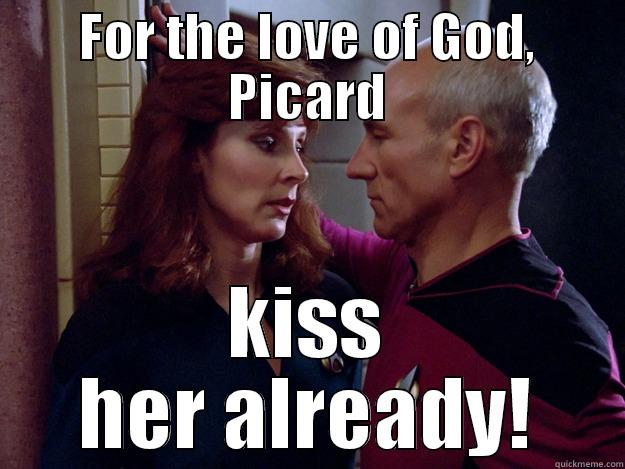 picard relationship with god