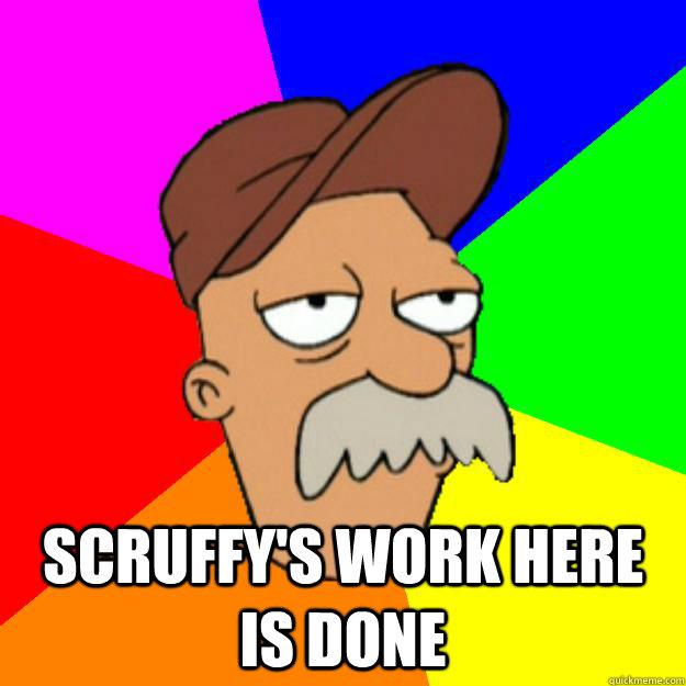 scruffy meme Gallery