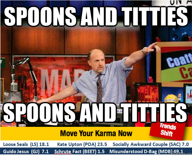 Spoons and titties SPOONS AND TITTIES