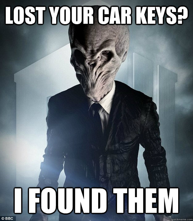 LOST YOUR CAR KEYS? I found them - LOST YOUR CAR KEYS? I found them  Scumbag Silence