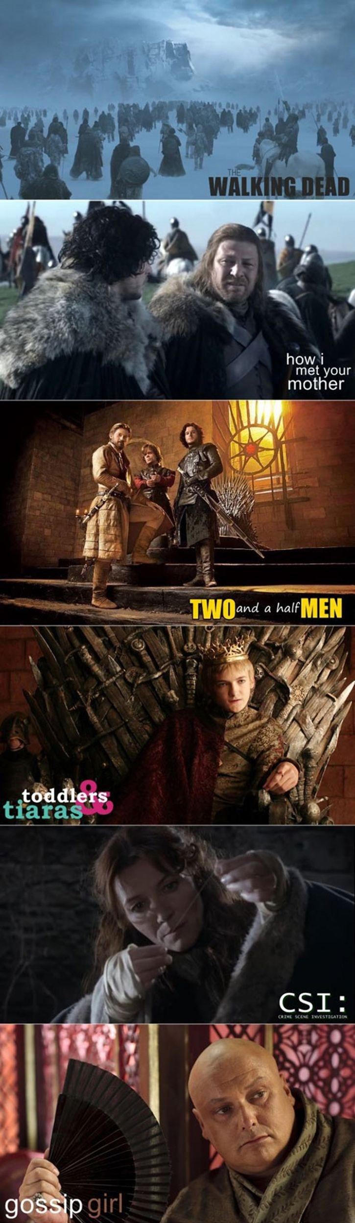 What If Game Of Thrones Was Other TV Shows -   Misc