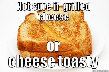 The cheese never lies - NOT SURE IF  GRILLED CHEESE OR CHEESE TOASTY Misc