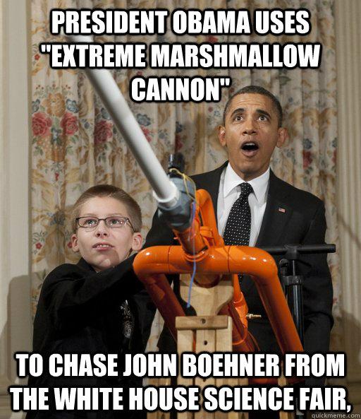 President Obama uses
