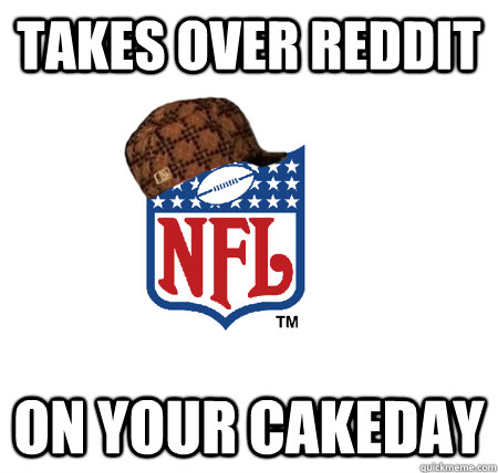 Takes over Reddit On your cakeday