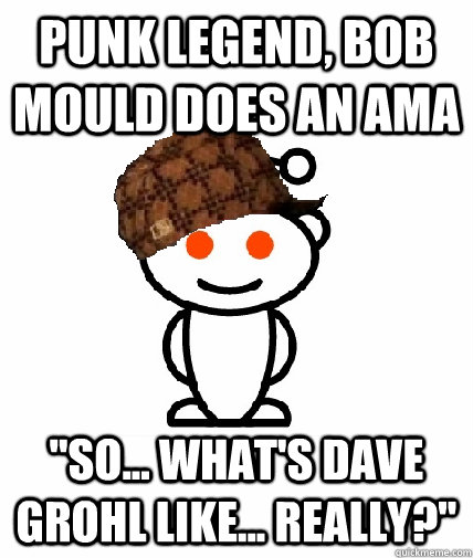 Punk legend, bob mould does an ama