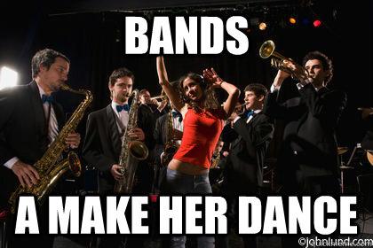 BANDS A MAKE HER DANCE - BANDS A MAKE HER DANCE  BANDS A MAKE HER DANCE