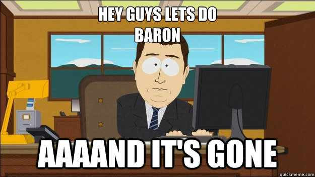 Hey guys lets do baron