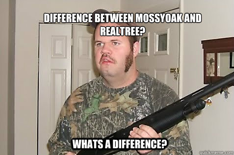 Difference between mossyoak and realtree? whats a difference?