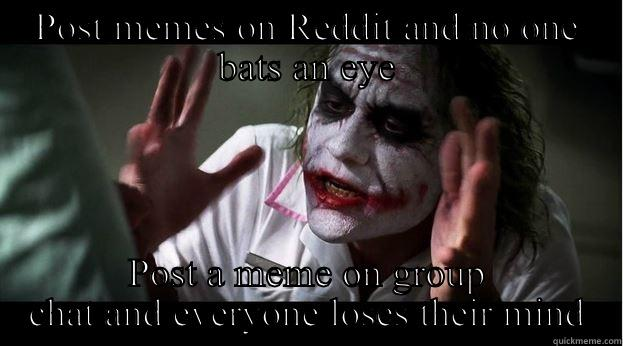Funny Meme For Group Chat : Joker mind loss memes quickmeme