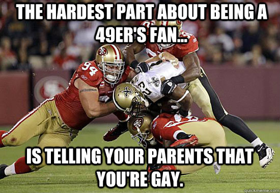 from Rashad gay forty niners player