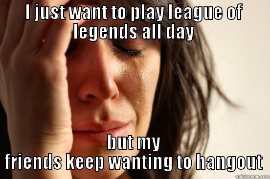 League of legends problem - quickmeme