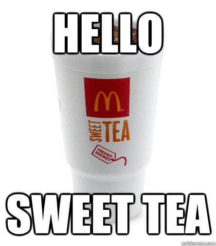 HELLO SWEET TEA - HELLO SWEET TEA  Rivers Drink