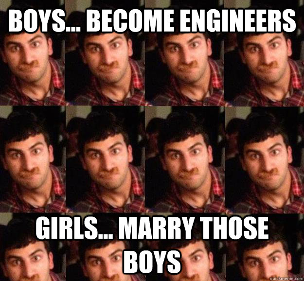 dating engineer girl