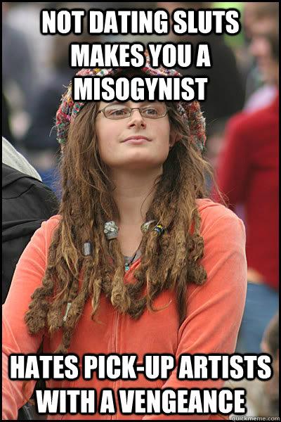dating a misogynistic man