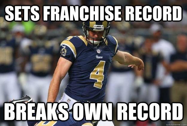 Sets franchise record breaks own record - Sets franchise record breaks own record  Young GZ