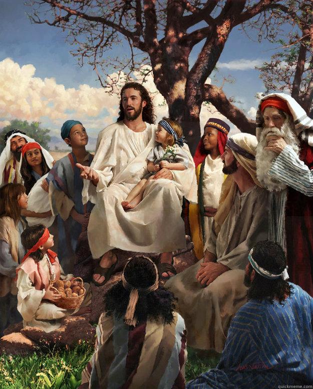 Jesus be like ooh heal em