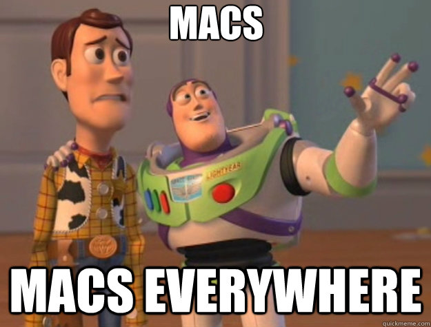 Macs Macs everywhere - Macs Macs everywhere  Toy Story