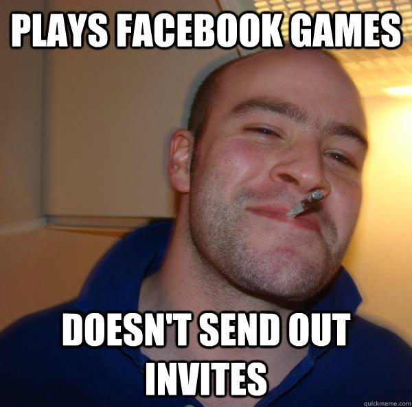 Plays facebook games doesn't send out invites - Plays facebook games doesn't send out invites  Misc