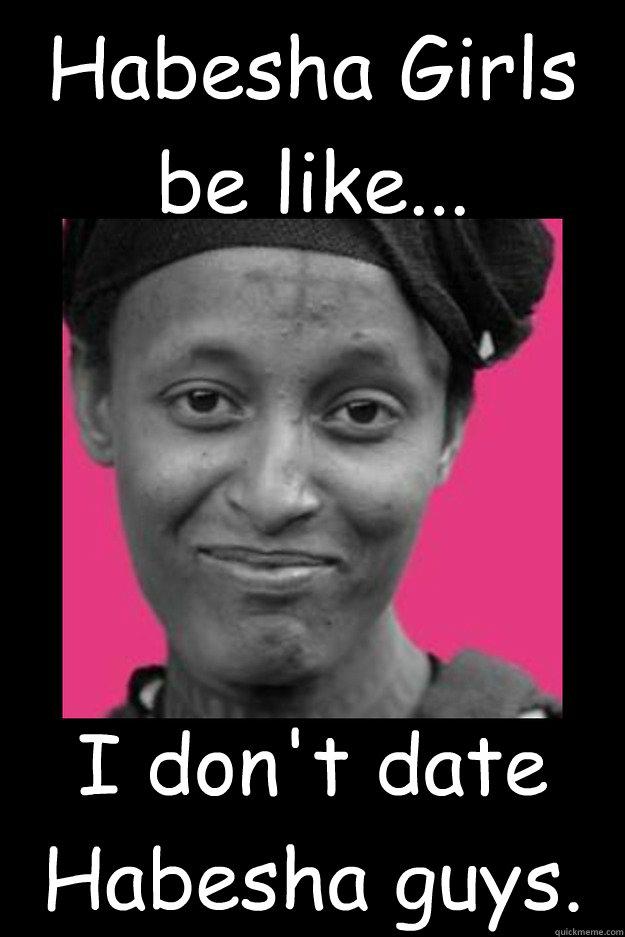 I don't like dating black guys