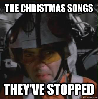 The Christmas Songs They've Stopped  Theyve Stopped