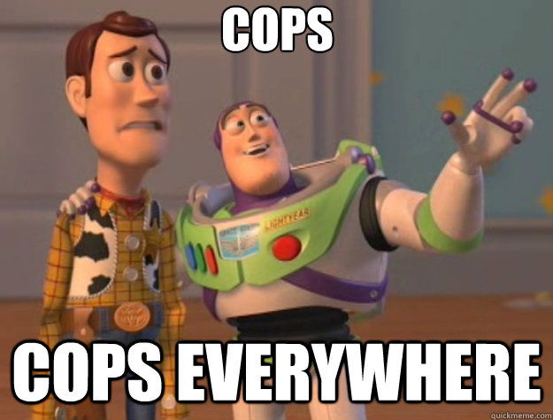 Cops Cops everywhere - Cops Cops everywhere  Misc