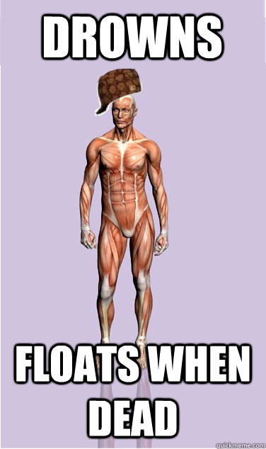 drowns floats when dead - drowns floats when dead  Misc