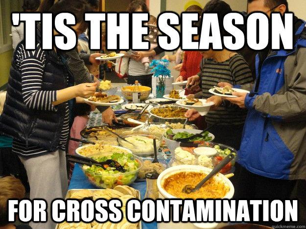 'Tis the Season for cross contamination - 'Tis the Season for cross contamination  Cross Contamination